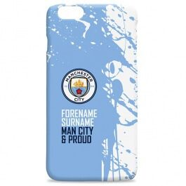 Manchester City Hard Back Phone Case - Shirt Official Manchester City merchandise. A premium quality hardback clip-on case personalised with the recipients Surname and number on the shirt. Printed on a 3D full colour wrap with a high gloss finis http://www.MightGet.com/may-2017-1/manchester-city-hard-back-phone-case--shirt.asp