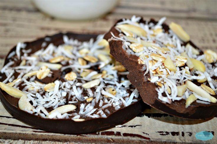 Sugar Free Chocolate Bars. Diabetic friendly snack. Gluten free. By SweetAsHoneyNZ.