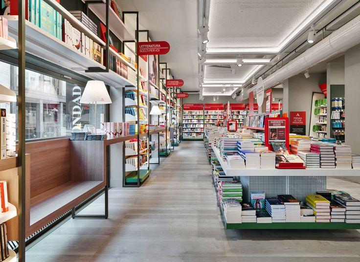 migliore + servetto architects' concept store for mondadori in milan