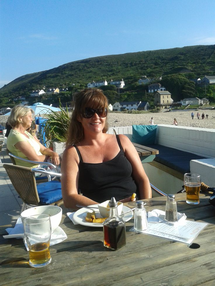 At The Blue Bar porthtowan June 2014