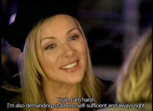 """Finally and most importantly, you make no apologies for who you are. 