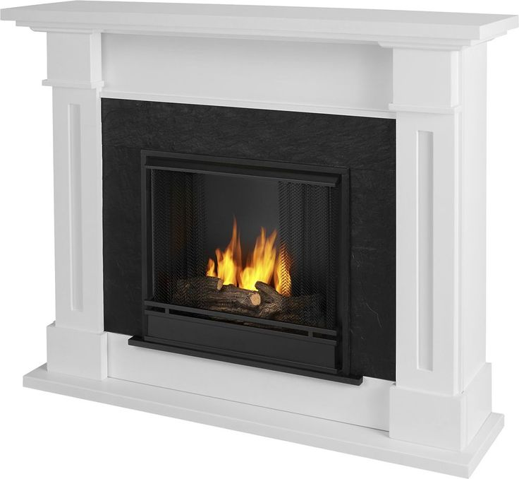 Real Flame - Kipling Gel Fireplace - White