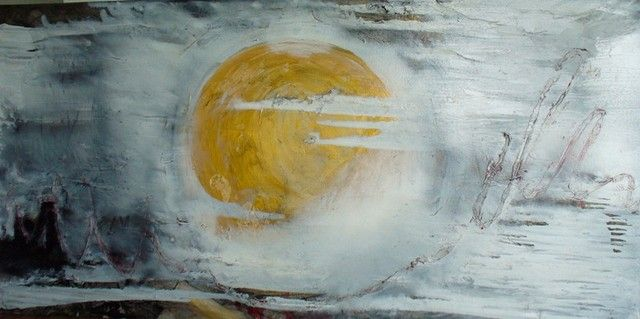 Every day a new Sun, 2011 (90x160 cm)