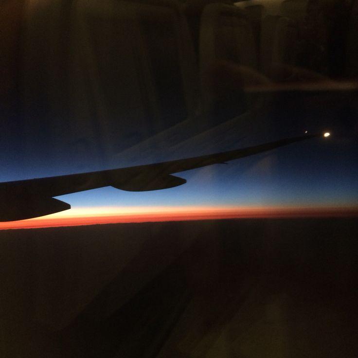 タイ航空  夜明け前