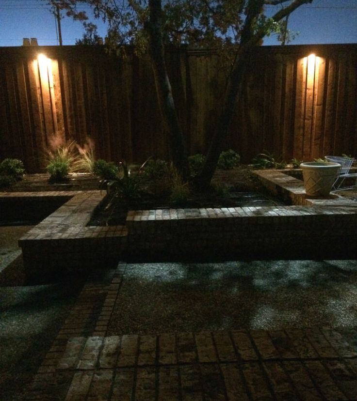 17 Best Images About Fence, Step & Wall Lighting