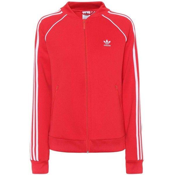 regla Y así luz de sol  Adidas Originals Track Jacket ($83) ❤ liked on Polyvore featuring  activewear, activewear jackets, red, spor… | Tracksuit women, Tracksuit  jacket, Activewear jackets