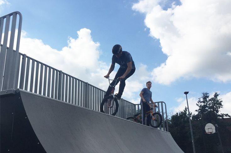 Barnton Skate Park, Northwich   Jupiter Play & Leisure