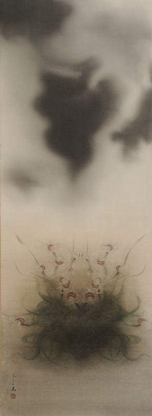 松井冬子 Fuyuko Matsui 健全な自己治療の方法 2010年 絹本着色