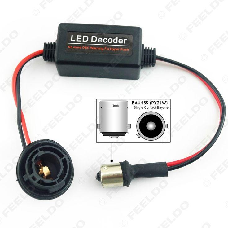 10Pcs Car BAU15S No Error Load Resistor No Flickering Decoder for LED Light Into a canbus bulb #FD-3927