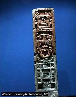Bajorrelieve Azteca. Arte Azteca