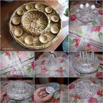 DIY easter egg tray, Follow us: www.facebook.com/fabartdiy