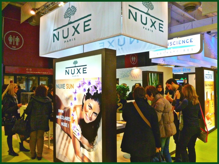 Nuxe at Pharmagora 2013 - Paris Expo Porte de Versailles, Paris, France