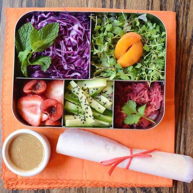 17 Easy Vegetarian Bento Box Lunches Anyone Can Make   Brit + Co