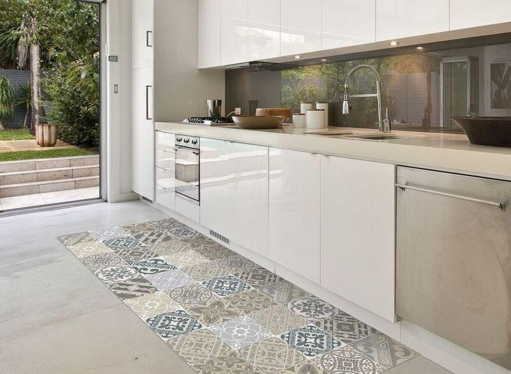 Vloertegels Keuken Karwei : Keuken Karpetten op Pinterest – Keuken Tapijt, Haan keuken en