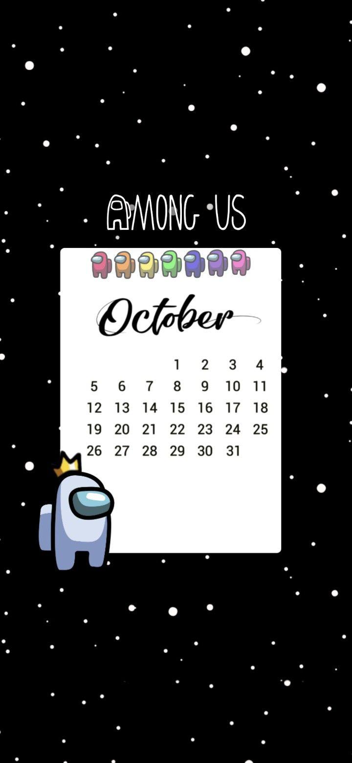 Among Us Wallpaper Calendar 2020 Among Us Calendar Aesthetic Iphone Wallpaper Cartoon Wallpaper Aesthetic Wallpapers