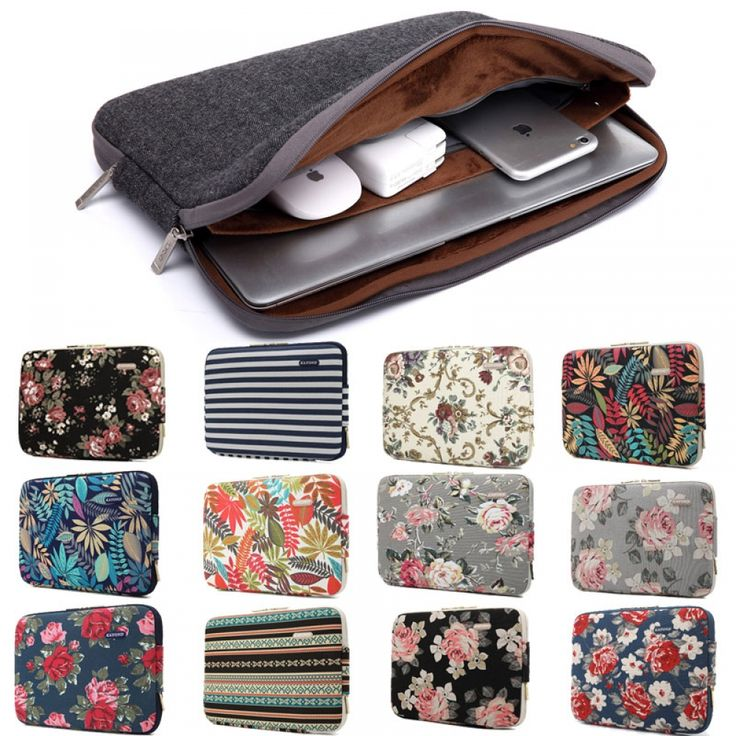 Laptop Sleeve Case Notebook Inner Bag Computer Cover Pouch for Dell ASUS Lenovo Macbook Pro Air 11″12″13″14″15″15.6″ 3layer