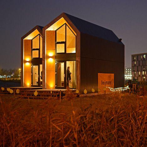 1000 images about buiten op pinterest geprefabriceerde for Verplaatsbaar huis