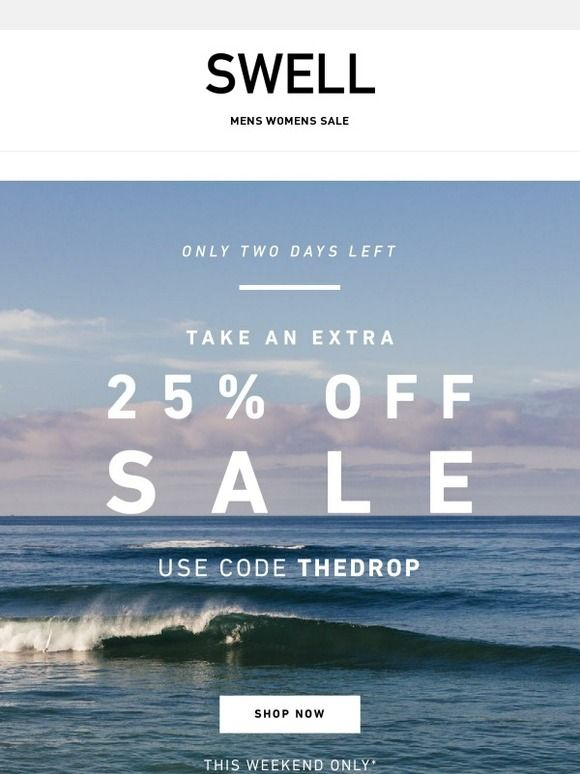 The Labor Day Sale is ON...But Not For Long - Swell