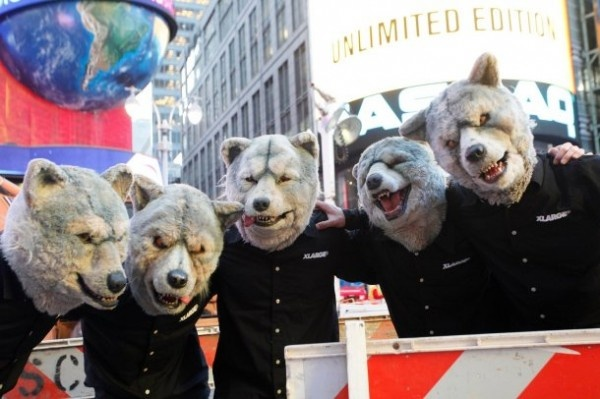 MAN WITH A MISSION announces their first Budokan concert