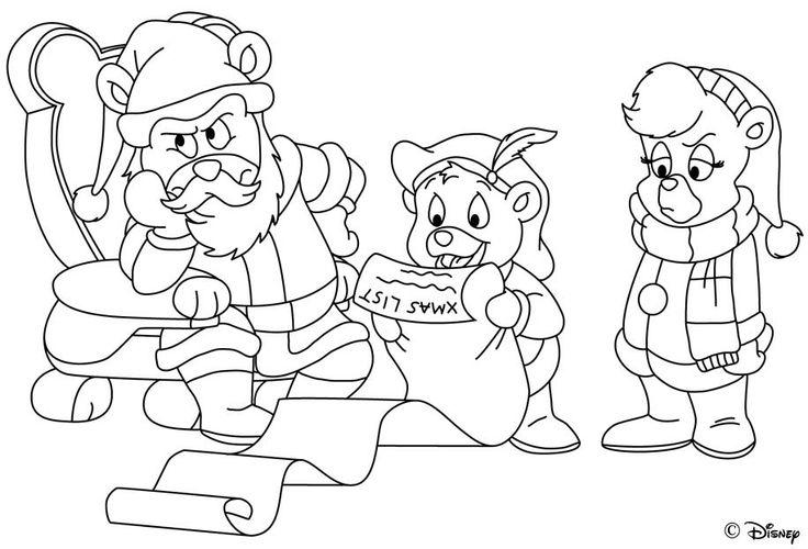 gummi bears  disney coloring sheets bear coloring pages