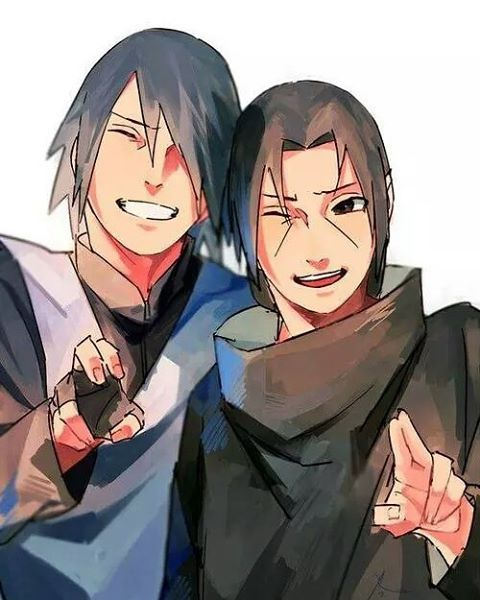 awwwww sasuke and Itachi absolutely love this pic