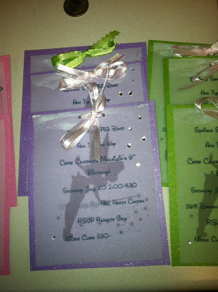 tinkerbell invitations - Yahoo Image Search Results