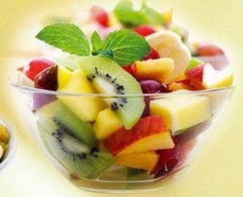 Салат фруктовый с медом рецепт