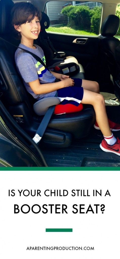 What age do you take your kids out of booster seats? There are a lot of things to think about. My six and eight year old both still use a booster seat.