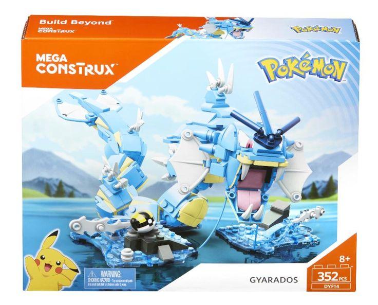 Mega Construx Building Set - Pokemon Gyarados Figure