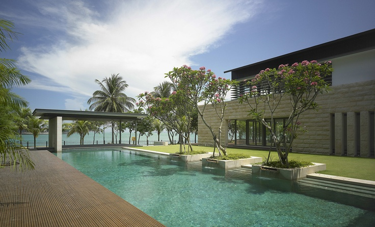 Ocean Drive Residence in Sentosa, Singapore by SCDA Architects