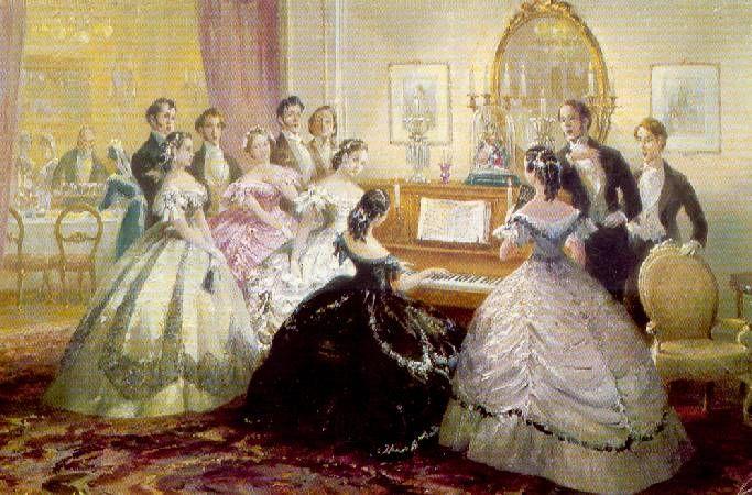 Victorian evening entertainment