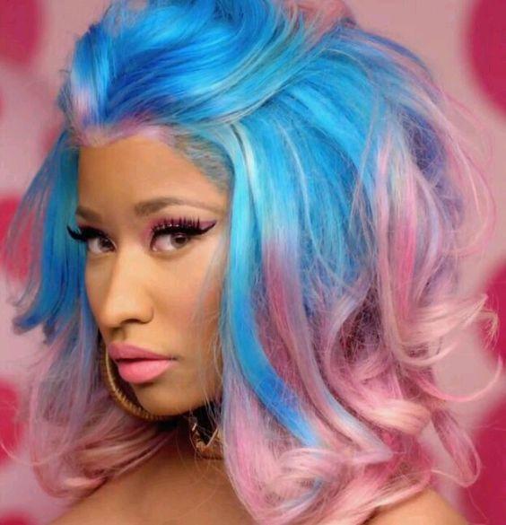21 Most Iconic Nicki Minaj's Hairstyle | New Natural ...
