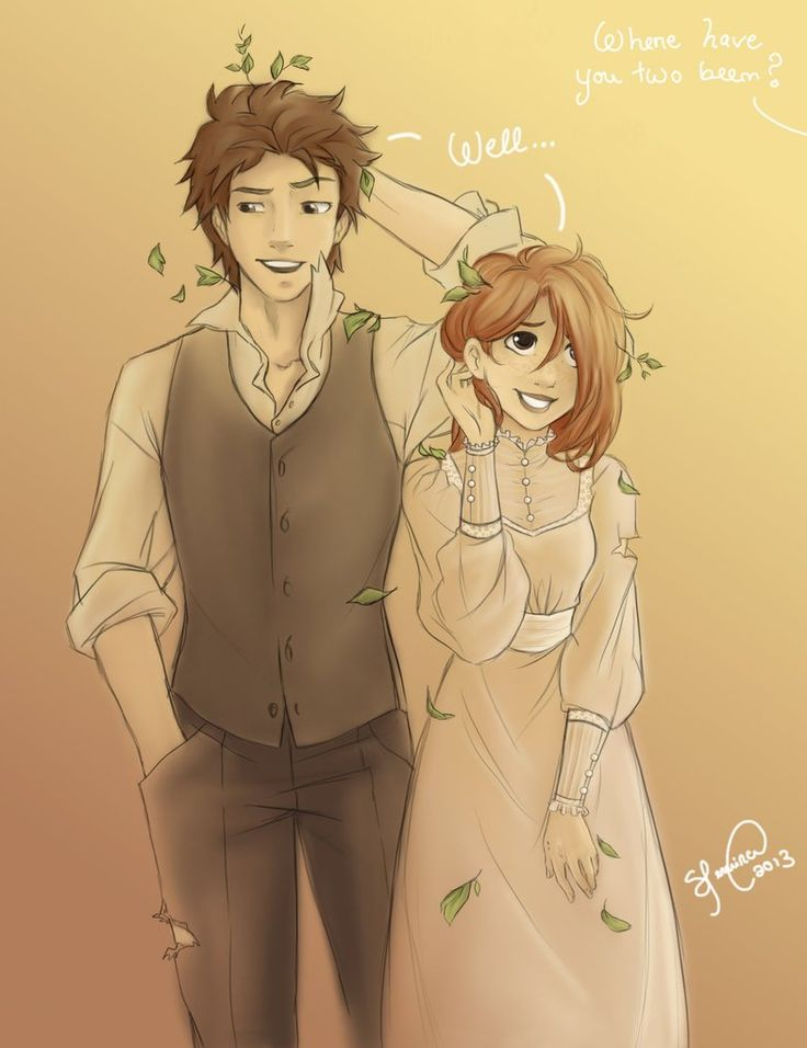 Where have you two been? by Lukia-Lokelani on deviantART. So cute!