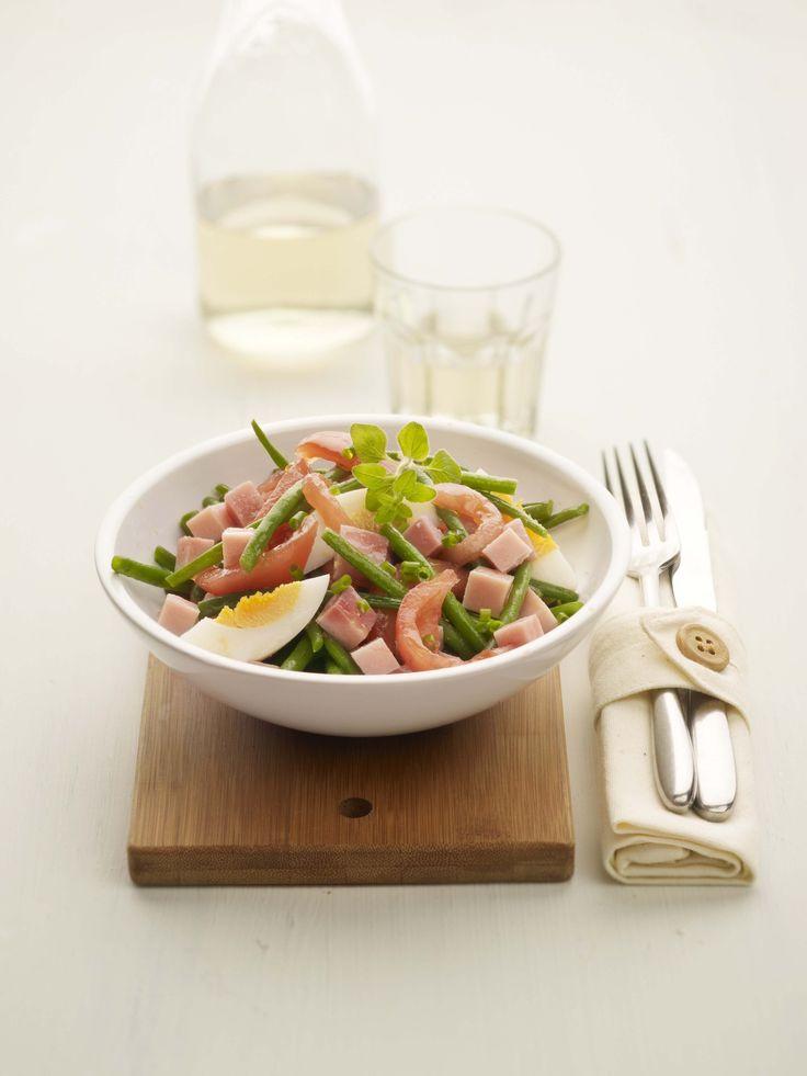 Salade met prinsesjes en Meesterlyck-ham