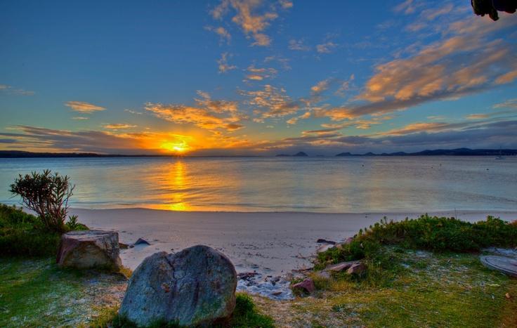 Soldiers Point Beach Port Stephens, Australia