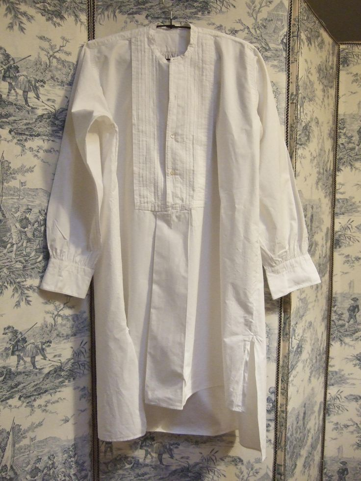 Vintage Evening shirt, dress shirt French, pin tuck. Gents clothing, White shirt. Smock. by JacquelineMcEwan on Etsy