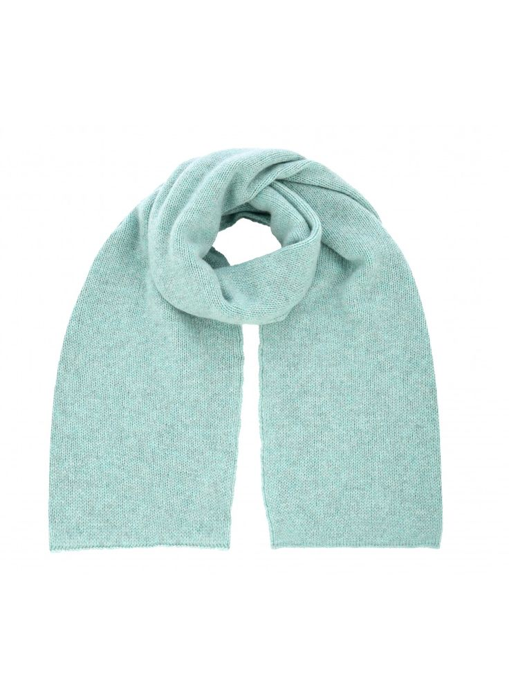 Cashmere Gauzy Knit Scarf - Scarves and Stoles   Brora