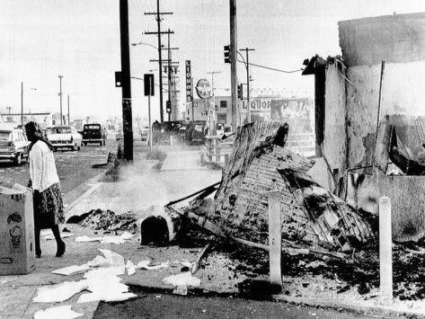 the events surrounding the watts neighborhood riots in california The watts riots, sometimes referred to as the watts rebellion, [1] took place in the watts neighborhood of los angeles from august 11 to 16, 1965 on august 11, 1965, an african-american motorist was arrested for suspicion of drunk drivinga minor roadside argument broke out, and then escalated into a fight.