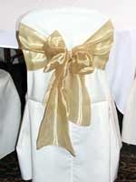 Seat By Design wedding chair cover