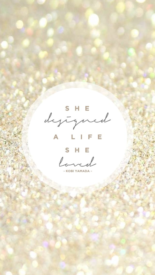 ✨She designed a life she loved✨ I truly believe this is the key to happiness