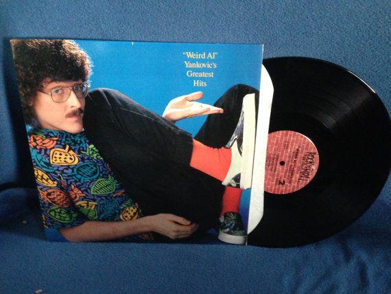 RARE Vintage Weird Al Yankovic  Greatest Hits by sweetleafvinyl