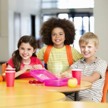La alimentación de los niños en la etapa escolar.