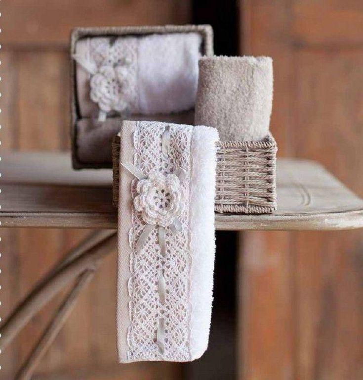 http://www.kirikkiri.it/?df=161446061176&pid=12 Blanc mariclo cestino lavette shabby chic serie amelie #Italia