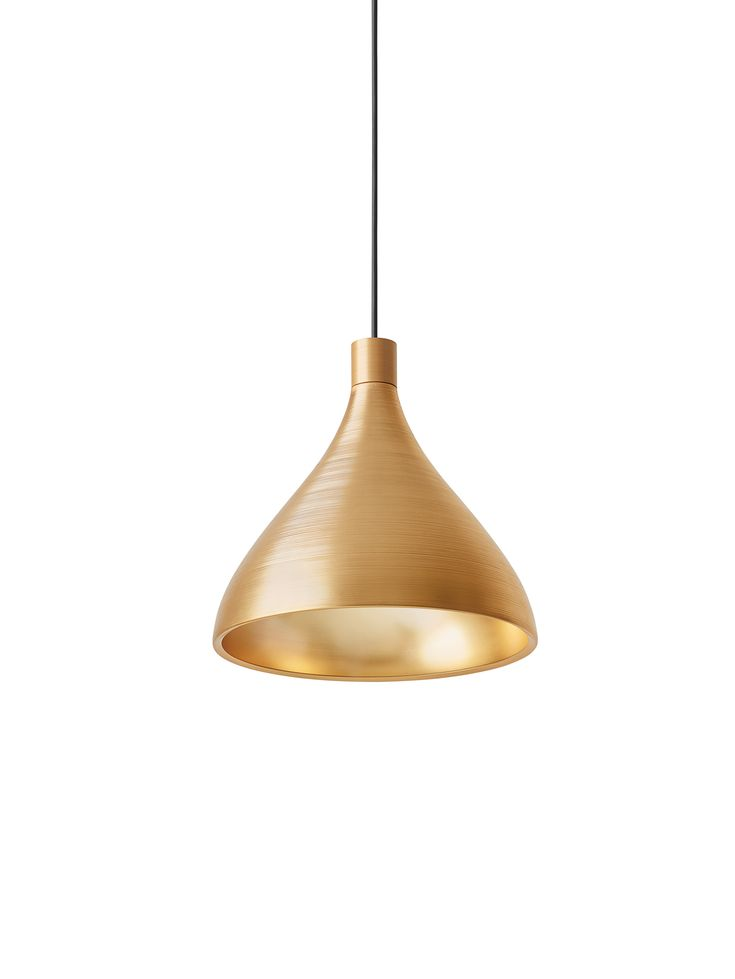 Swell 8 Light Single Bell Pendant Gold Pendant Light Kitchen Gold Pendant Lighting Pendent Lighting