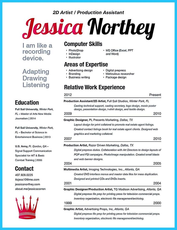 27 best Resumes images on Pinterest Resume templates, Career and - social media resume example