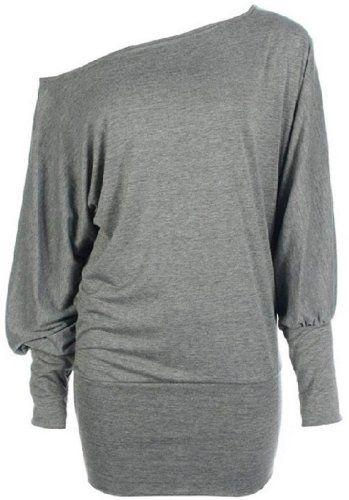 Funky Boutique Women's Plus Size Batwing Top Light Grey 16-18 LXL Funky Boutique,http://www.amazon.com/dp/B009FV9KGA/ref=cm_sw_r_pi_dp_Cfugtb0C2F310ZWJ