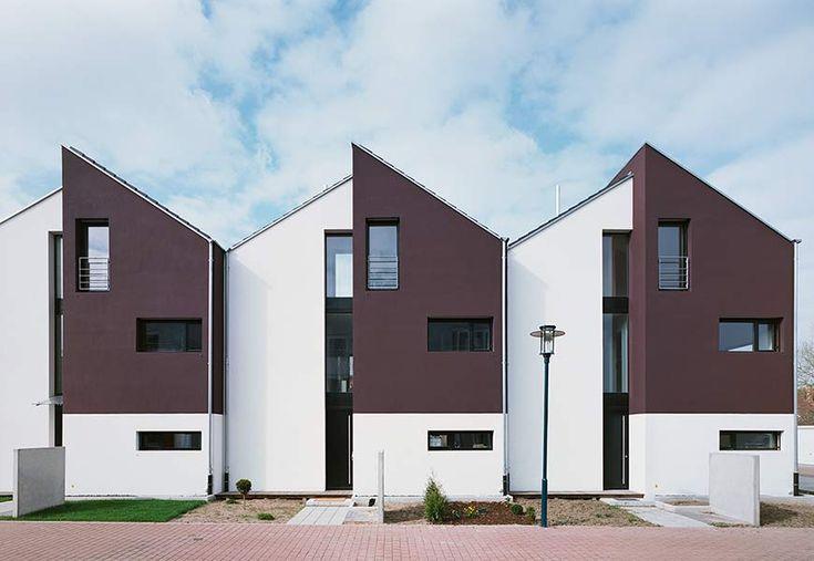 Neubau von vier Reihenhäusern in Hockenheim