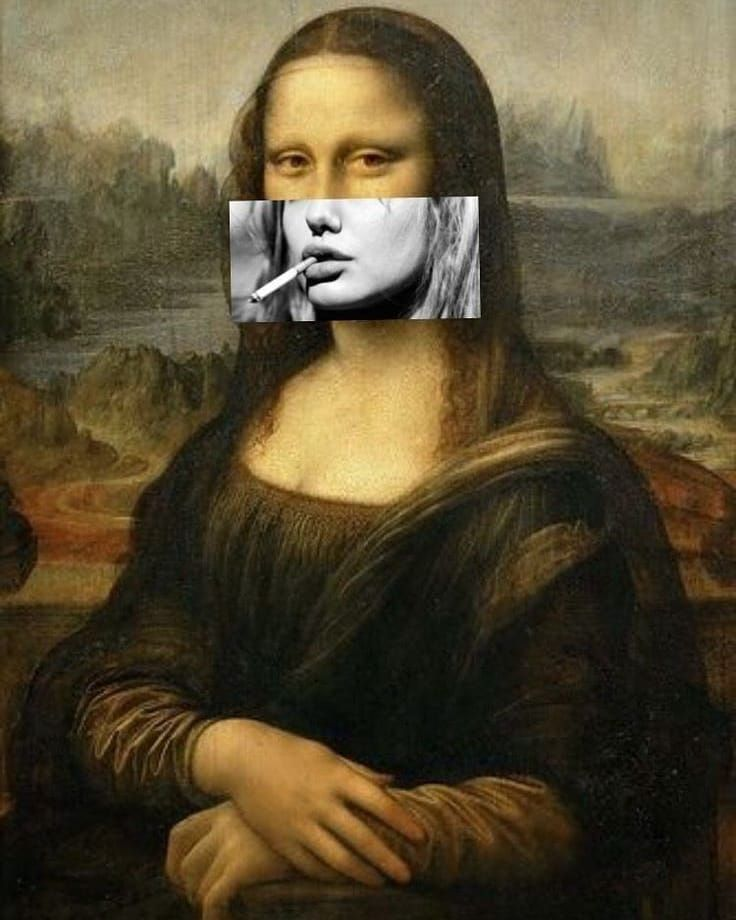 [New] The 10 Best Art (with Pictures) - Smoking Mona Lisa ...