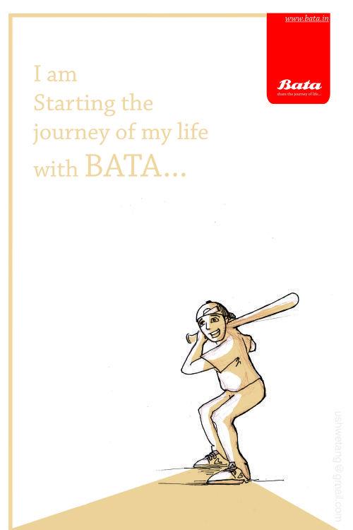 BATA advertising project by Graphic Designer Shwetang Upadhayay