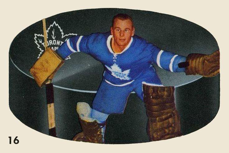 Johnny Bower 1962-63 Parkhurst Hockey Card